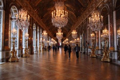 レンタカーでフランス一人旅(その7 ベルサイユ宮殿)