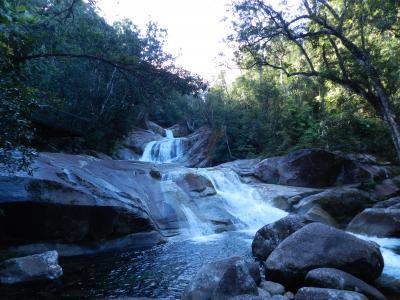 ウールーノーラン国立公園内『ジョセフィン滝』◆初オーストラリア!ケアンズ近郊で滝めぐり&グレートバリアリーフ≪その6≫