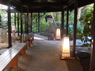 九州・福岡の旅・・・・母の100才を祝って④ホテルの庭園露天風呂と朝食