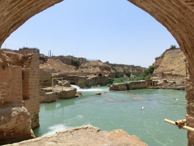 イランの旅再び(シューシュタール)