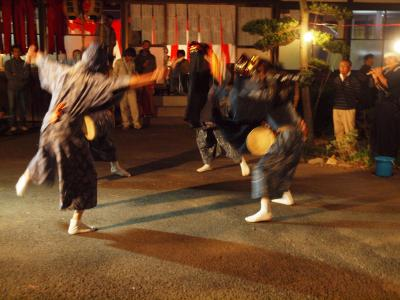 加須市の集落 今鉾に伝わる 加須市無形民俗文化財「今鉾の獅子舞」 舞うー3