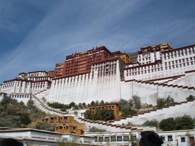 神秘的な場所チベット