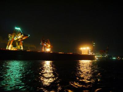 夜の名古屋港ナイトクルーズに参加!