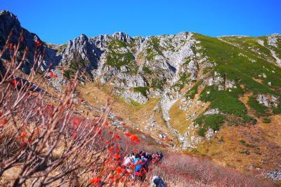 2013年10月 横谷渓谷・白駒池・千畳敷カール