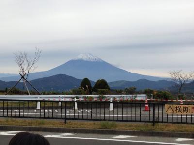 親を引き連れ、総勢8人で箱根へ。1泊2日の接待旅行。