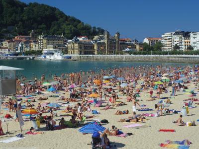 2013年 スペイン Madrid発、12の町を15泊で周遊の旅 /  DONOSTIA=SAN SEBASTIAN (ドノスティア=サン・セバスティアン)