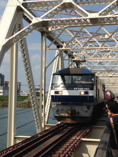 閉鎖直前!! 鉄道と歩道が並んでいる鉄橋「赤川鉄橋(赤川仮橋)」訪問記(2013年10月)