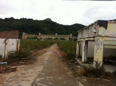 ビアラオ便り~中国国境の町ボーテン。ゴーストタウンを歩く
