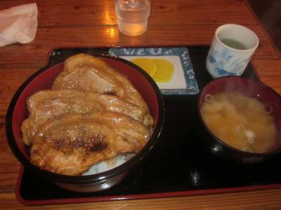 """たまには「ベタ」なB級ご当地グルメ1309 「帯広豚丼 """"レストランよねくら""""」   ~池田・北海道~"""