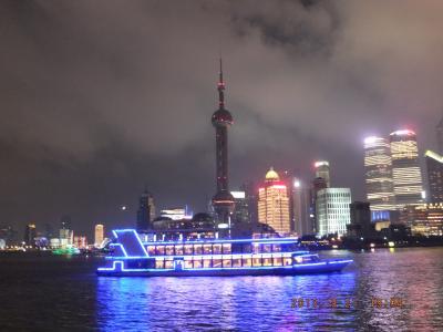 上海の空は曇り