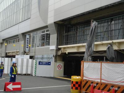 再開発が進む京急蒲田駅周辺 (2013 10月21日)