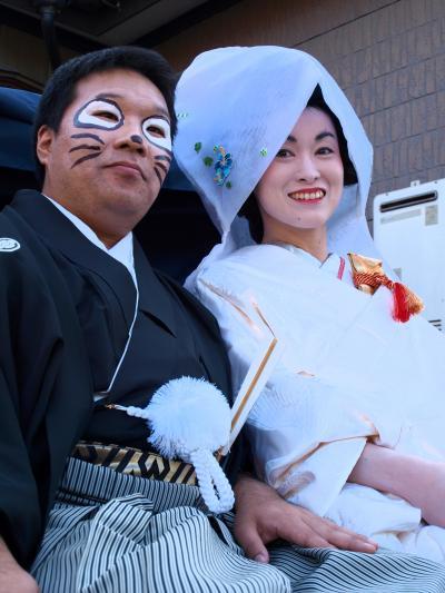 「 狸の婿入り行列 」 & 「 フルーツ狩り 」 の小さな旅 < 新潟県新潟市南区 >