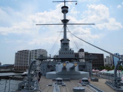 横須賀 戦艦三笠 見学。