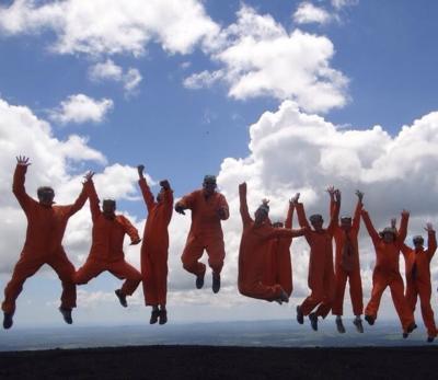 中米六カ国縦断の旅25♪ボルケーノハイキングとボルケーノボーディング
