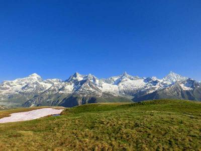 スイスハイキング2013・動画(リッフェルベルグからスイスアルプス360度のパノラマ)