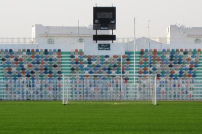 2011冬、シリア等・中東旅行記(2)ドーハ国際空港、ドーハの悲劇のアル・アリ・スタジアム