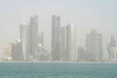 2011冬、シリア等・中東旅行記(7)ドーハ、スークと港散策の後、ドーハ国際空港へ