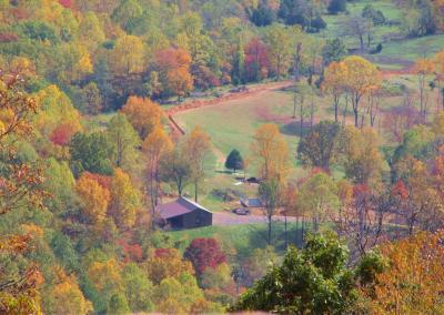 2010.紅葉のバージニア(10)**シェナンドウ国立公園を縦断 ロッジで1泊。