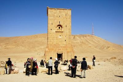 2011冬、シリア等・中東旅行記(12)パルミラ、墓の谷、エラベルの墓