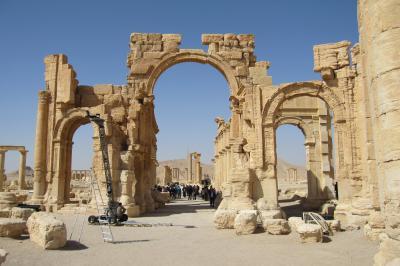 2011冬、シリア等・中東旅行記(14)パルミラ、パルミラ遺跡、ベル神殿
