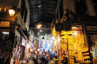 2011冬、シリア等・中東旅行記(16)ダマスカス、パルミラ遺跡からダマスカスへ、ダマスカス旧市街
