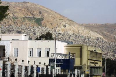 2011冬、シリア等・中東旅行記(17)ダマスカス、泊ったホテル界隈の早朝散策