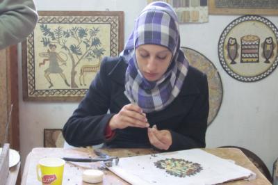 2011冬、シリア等・中東旅行記(32)マダバ、モザイク工場、 ネボ山、ネボ山博物館