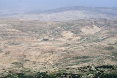 2011冬、シリア等・中東旅行記(33)マダバ、ネボ山、ネボ山博物館