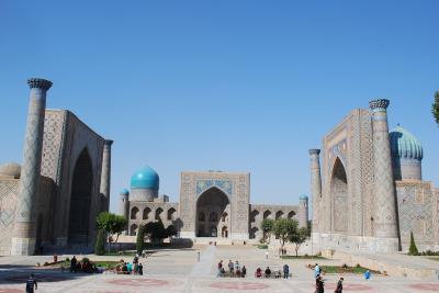 ウズベキスタン旅行1 憧れのサマルカンドへ