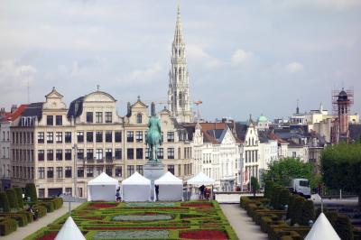 5月なのに極寒!異常気象の欧州17日間の旅⑭: ブリュッセル(2) ゲント日帰りの前にちょっと街の散策