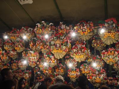 府中の夜は、「日本の昔」が現役でたくさんあった(大國魂神社・酉の市)