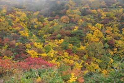 秘湯と紅葉の安達太良山
