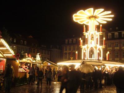 2010 ドイツクリスマスマーケット  ゚・*:.。:* ハイデルベルク ゚・*:.。:*