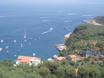 蒼い海の南イタリア 1 (ローマ、ソレント、ラヴェッロ ー7歳子連れ旅)