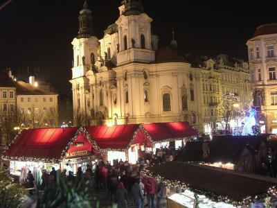 2008-09年末年始3 ドイツ・チェコ・オーストリア (プラハの年越し カウントダウン・大晦日・クリスマスマーケット~ウィーン)
