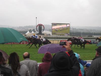 2013 雨のドーヴィル競馬場で重賞を見てきました!