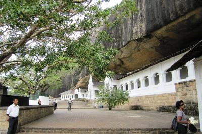 2011夏、スリランカ旅行記(24)黄金釈迦座像、ジャックフルーツ、ダンブッラ・黄金寺院