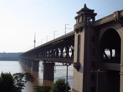 湖北省出張4★武漢★長江大橋を歩いて渡る♪