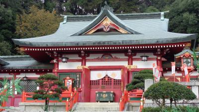 栃木県足利市・神社紅葉散策