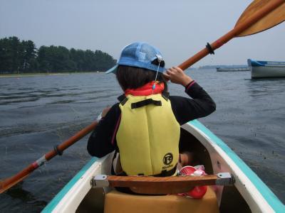 琵琶湖でカヌー♪ その1.初体験 2013
