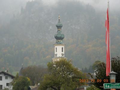 2013秋 オーストリアの旅(3) ザルツブルク(その2/St.Gilgen 悲し)