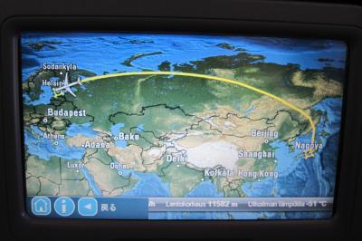 2011秋、ブルガリア等・東欧旅行記(1)セントレア国際空港からヘルシンキ国際空港経由、ルーマニアのブカレストへ