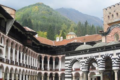 2011秋、ブルガリア等・東欧旅行記(16)リラ、リラの僧院