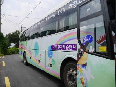 韓国32回目 ~加平(カピョン)観光地循環バス~