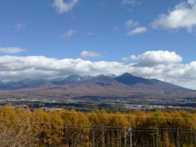 空気が澄んだお天気だから山を見に行こう 八ヶ岳と昇仙峡