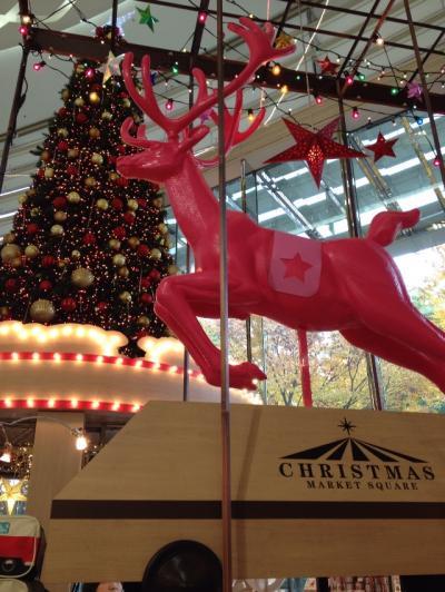 名古屋・松坂屋の中は 華やかな クリスマス~
