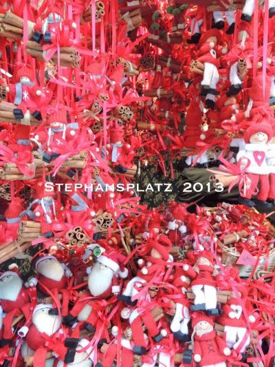 ウィーンのクリスマスマーケット 2013 ~シュテファン大寺院広場~