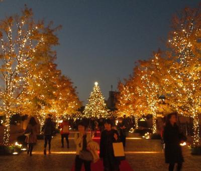 恵比寿で忘年会・イルミネーション Year-end party and illumination in YEBISU GARDEN PLACE