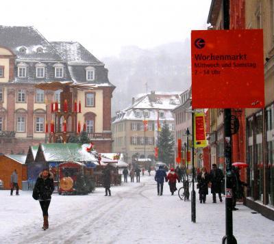 クリスマスマーケットの本場ドイツの旅3~初々しいキッスとハートの街