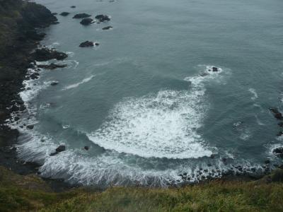 """北海道は""""大陸""""だった! 道内2千キロ走破、バスの旅ーその5・断崖絶壁、嵐のえりも岬ー"""